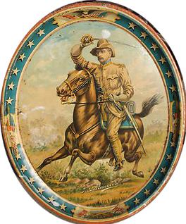 Teddy Roosevelt Beer Tray
